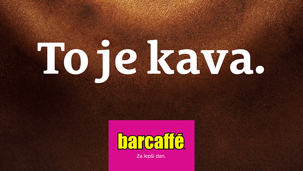 Trusted Brand 2020: Slovenci najbolj zaupamo kavi Barcaffè