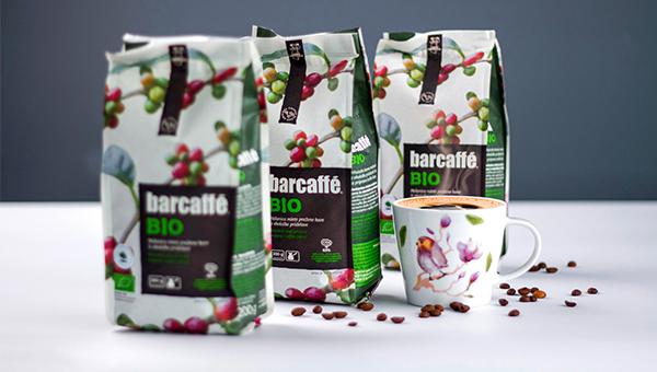 Barcaffè z okolju prijazno embalažo brez aluminija