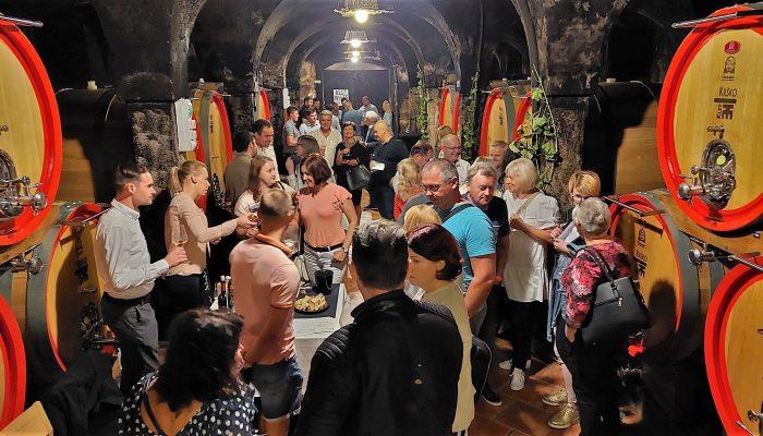Otvoritveni dogodek meseca Okusov Posavja napolnil Klet Krško