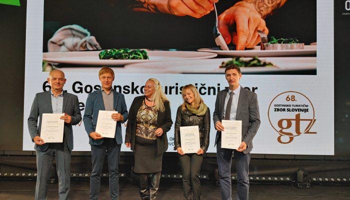Družba Hit prejela priznanja Turistično gostinske zbornice Slovenije